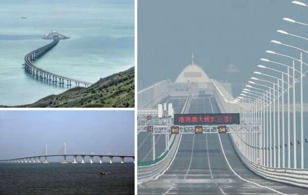 Il ponte sul mare più lungo del mondo collega Macao alla Cina
