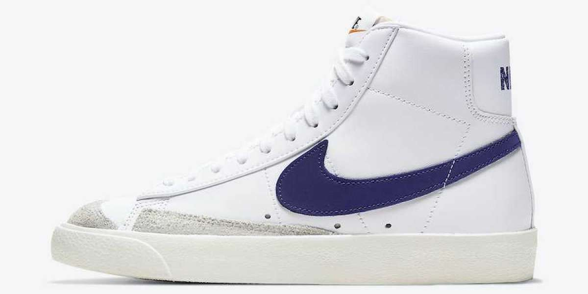 CZ1055-105 Nike Blazer Mid '77 Voltage Purple for Sale
