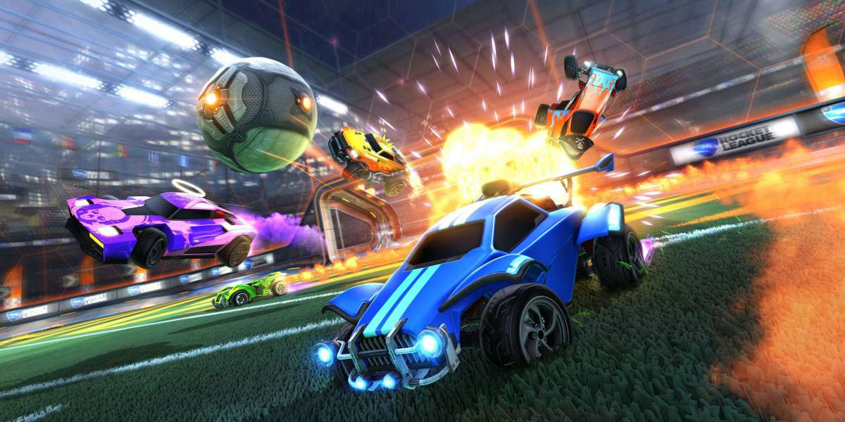 Rocket League's release on the Epic Games Store will coincide with the free