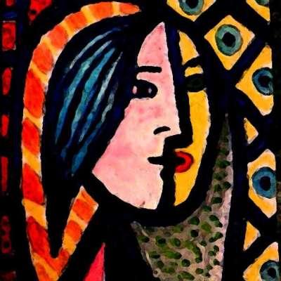 Donna a mosaico Profile Picture