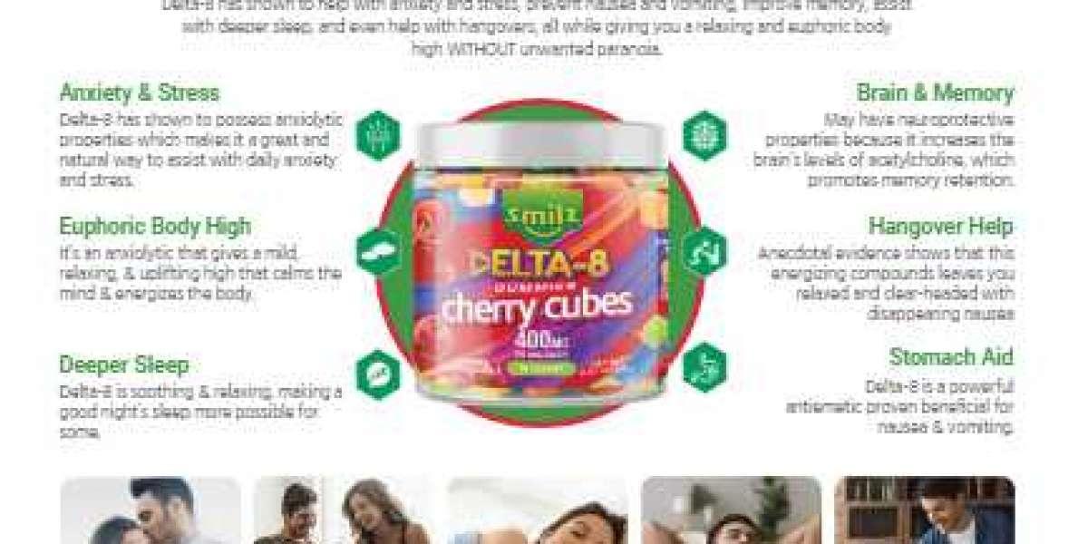 Smilz Delta-8 Gummies – Smilz Delta-8 Cherry Cubes 2021 Buy,Price Reviews
