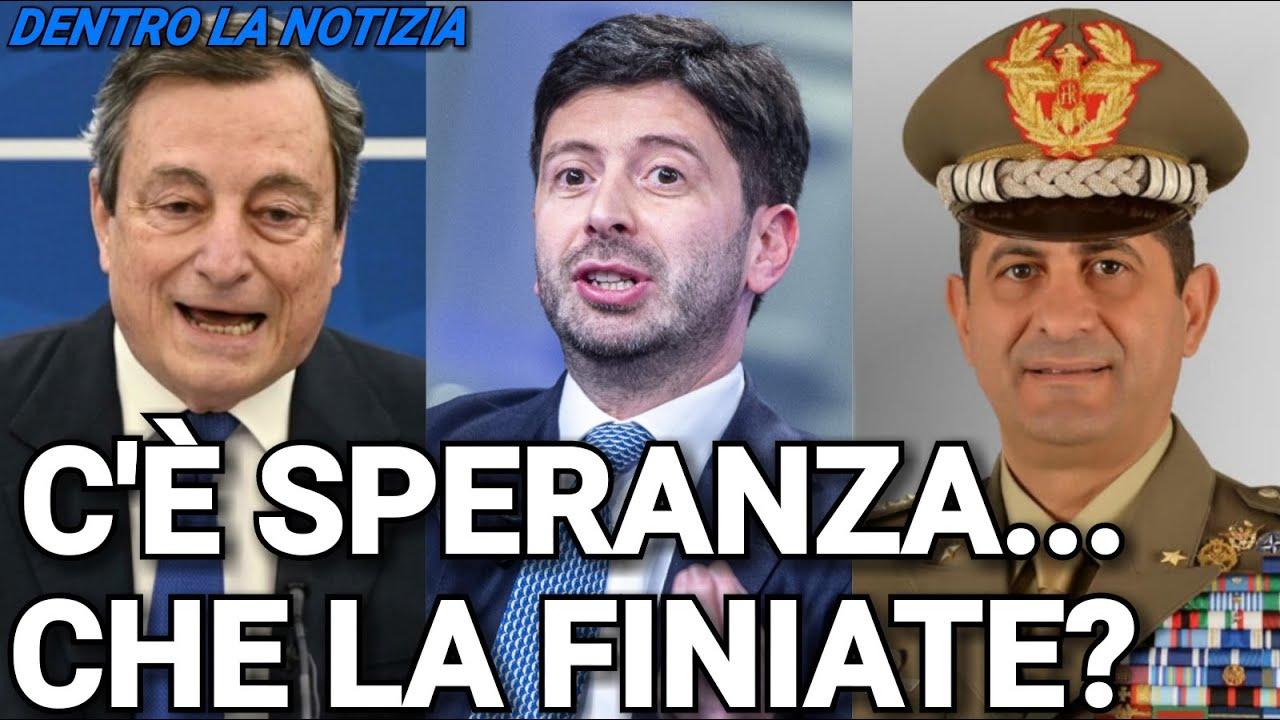 DRAGHI NON RINNOVERA' L'EMERGENZA: OBBIETTIVO VACCINAZIONI VICINO E ISTAT CONFERMA: ECONOMIA VOLA! - skip.li