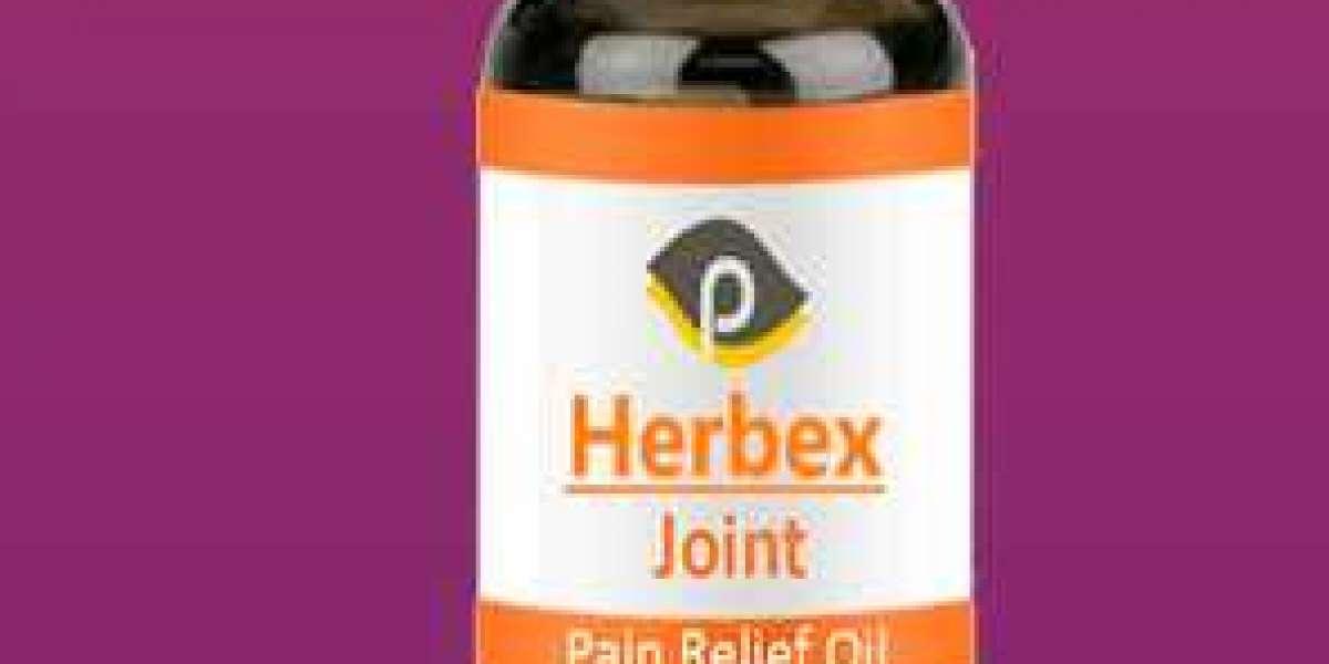 Herbex Joint Original Pain Relief Oil Natural Formula!